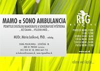 RTG-MEDLINE s.r.o.+ MAMOGRAFIA - MUDr. Mária Lešková , PhD.