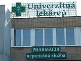 Univerzitná lekáreň - PharmDr. Tatiana Geročová, PhD.